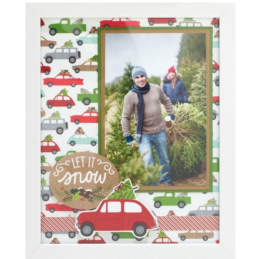 Merry Merry - Thickers Alphabet - chipboard imprimé