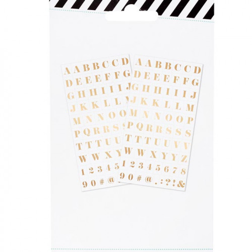 Alphabet Stickers - or - 140 pcs