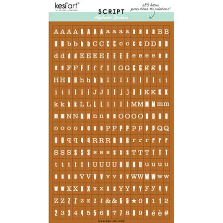 Alphabet Script - Camel