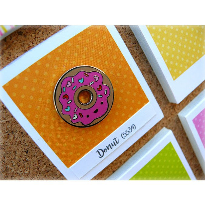 Cream & Sugar - Pins à collectionner - Donut
