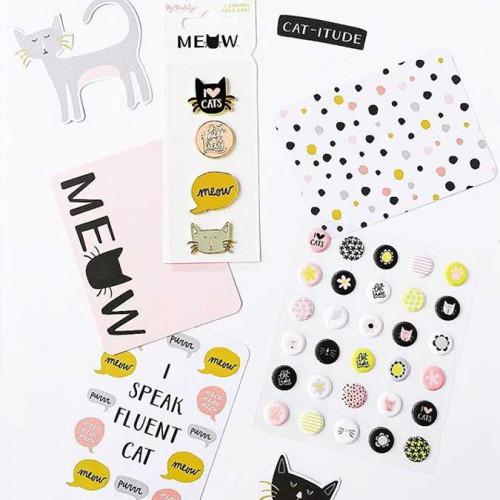 Meow - Faux Pins - 4 pcs
