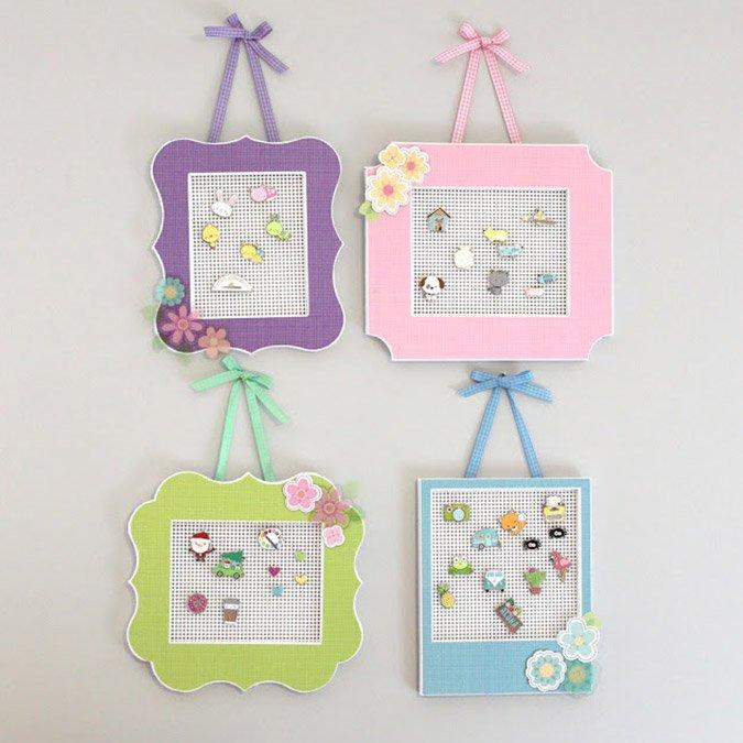 Cream & Sugar - Pins à collectionner - Mini cœur - 4 pcs