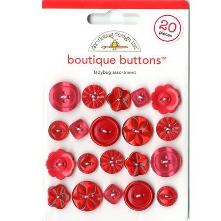 Boutons - Ladybug