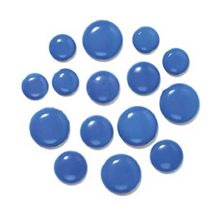 Chunky Brads - Blue Jeans - 18 pcs