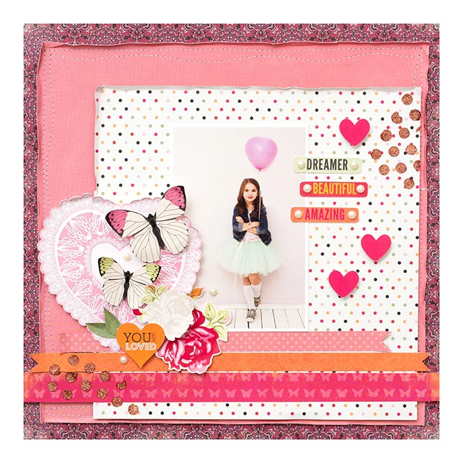 Sweet Clementine Chipboard Stickers - 43 pcs