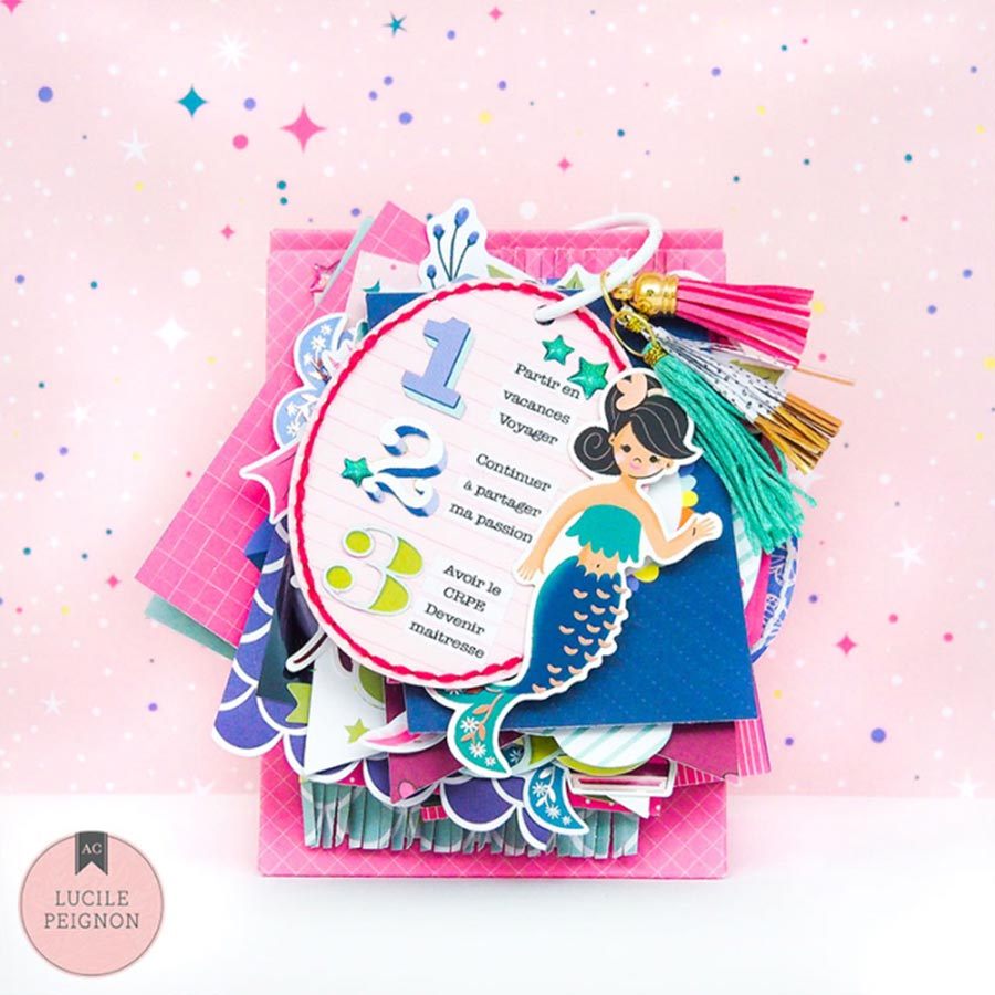 Head in the Clouds Chipboard Stickers - 37 pcs