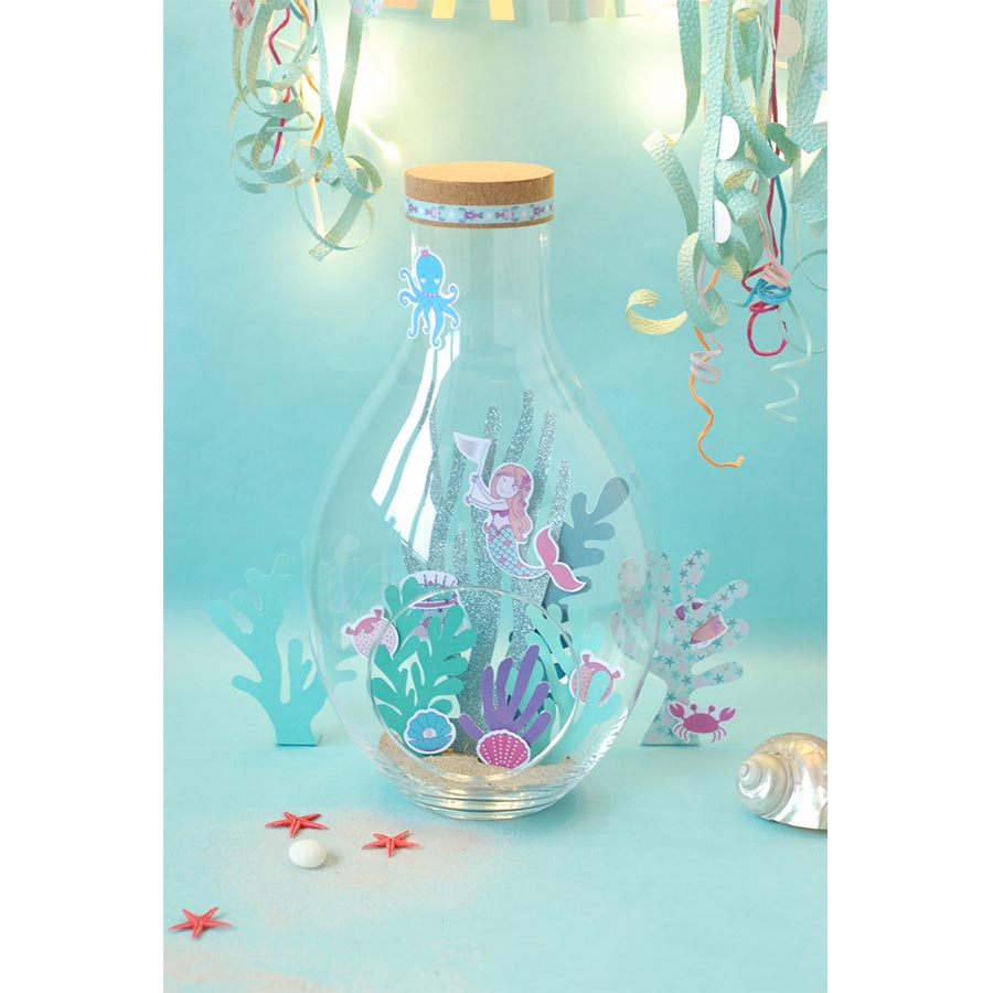 Confettis bois Sous la Mer - 25 pcs