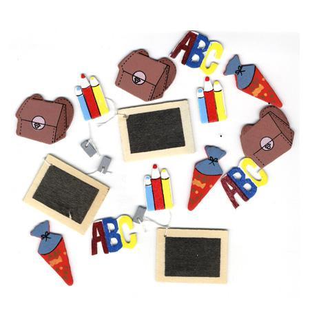 Petite pieces en bois - Ecole