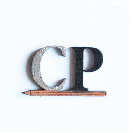 Mot en bois médium - CP - 3,3 x 1,9 cm