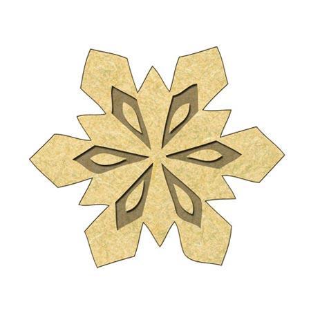 craft*diy 5 Pendentifs Breloques Lune Ajouré Morif Pr Bijoux DIY Charm 3x4.1cm