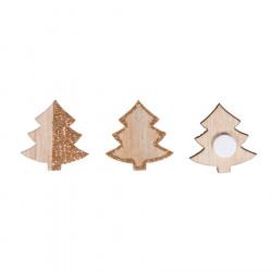 Miniatures bois Noël