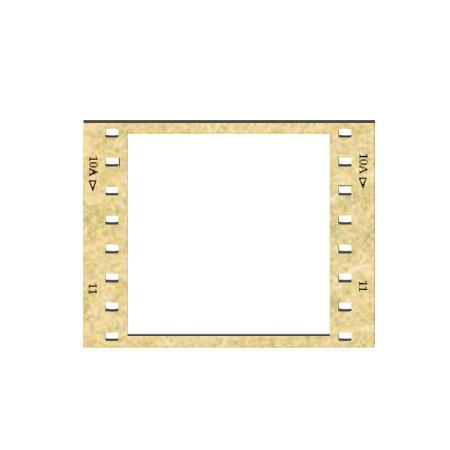 Sujet en bois médium - Pellicule 10 - 4 x 3 cm
