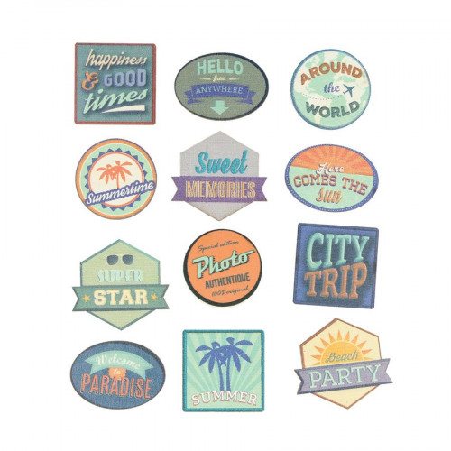 Sweet Memories - Stickers bois