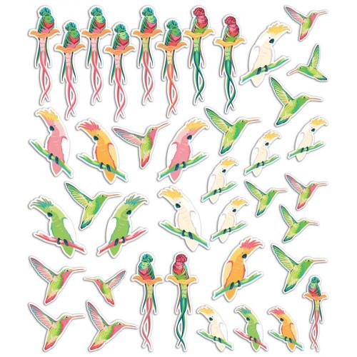 Formes et mots découpés Tropical Paradise - 40 pcs