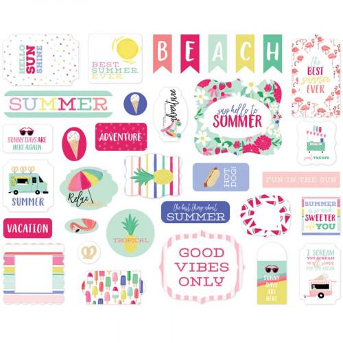Best Summer Ever Formes découpées #1