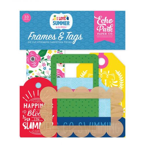 I love Summer Formes découpées #2