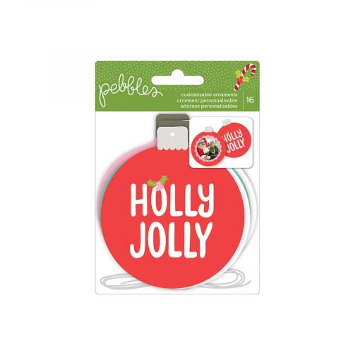 Holly Jolly - Ornaments - 16 découpes