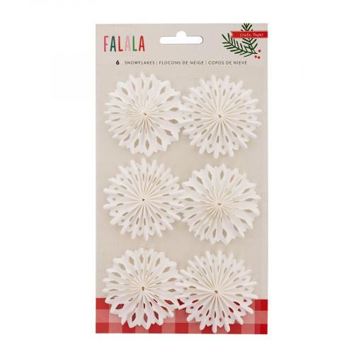 Falala - Flocons de neige en papier