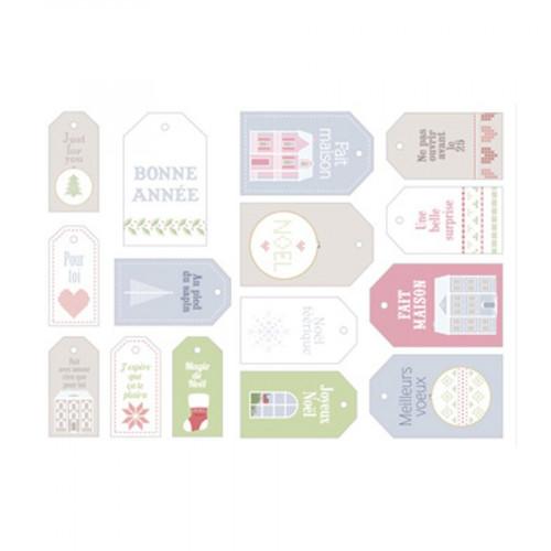 Home Sweet Home - Etiquettes - 15 pcs