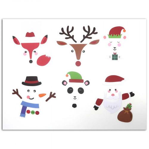 Formes découpées Personnages de Noël