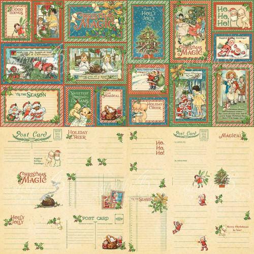 Christmas Magic Cartes pour le journaling - 32 pcs
