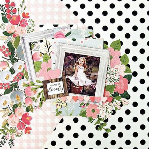 Full Bloom Découpes en papier