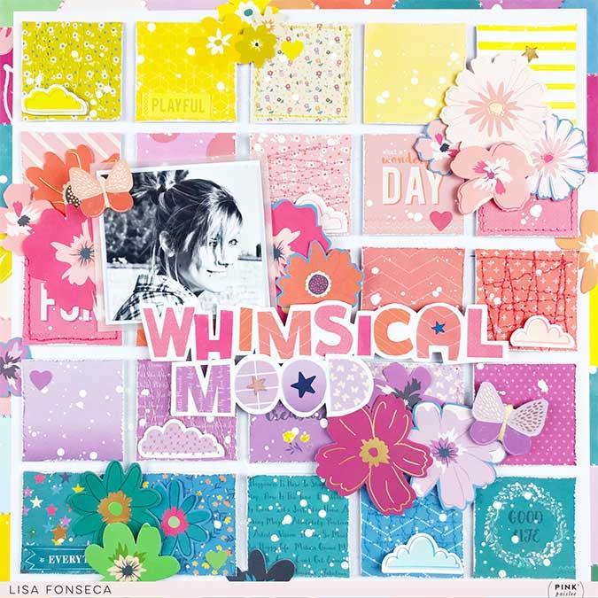 Whimsical Fleurs découpées - 50 pcs