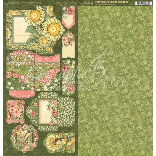 Garden Goddess Etiquettes et Pochettes