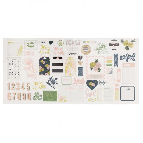 Emerson Lane Découpes en papier - 64 pcs
