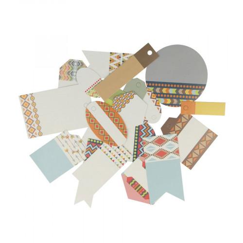 Totem - Etiquettes x 21 pcs