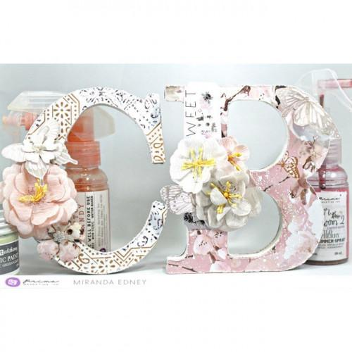 Etiquettes Cherry Blossom - 6 pcs