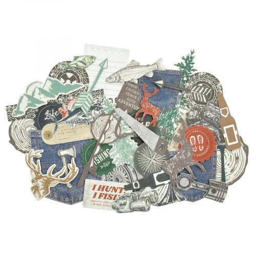 Mountain Air Découpes en papier