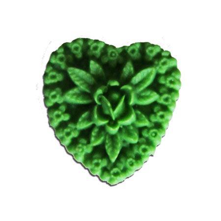 Whimsy Hearts - Green