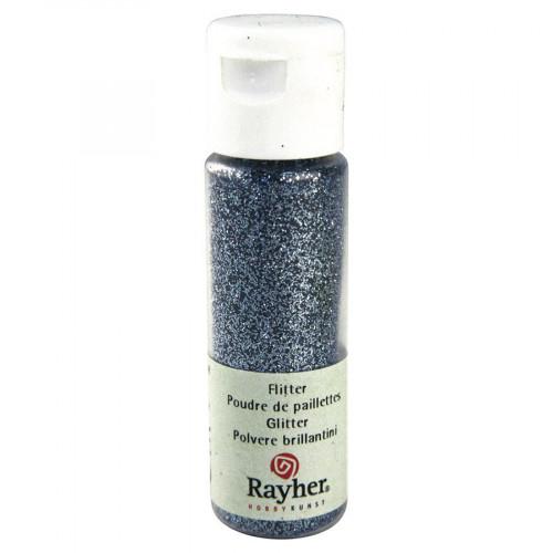 Poudre de paillettes ultrafine - bleu clair - 20 ml