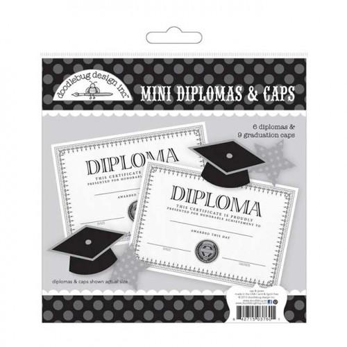 Hats off ! - Mini diplômes et chapeaux de diplômé