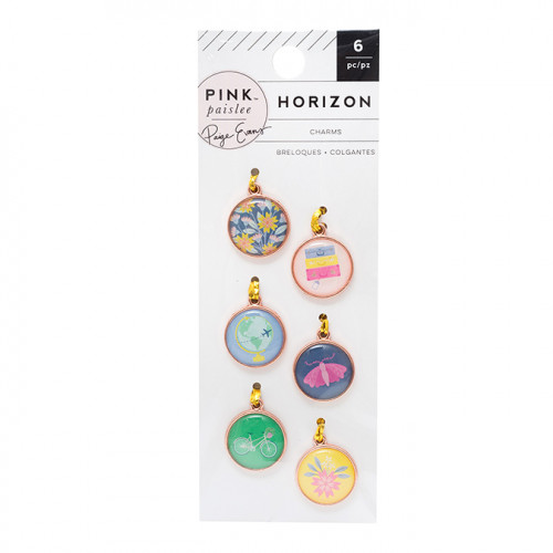 Horizon Charms - 6 pcs