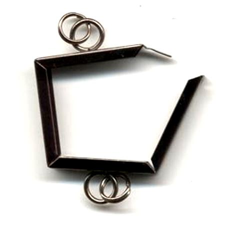 Inkssentials Memory - Frames - Polished Chrome - 1 x 1