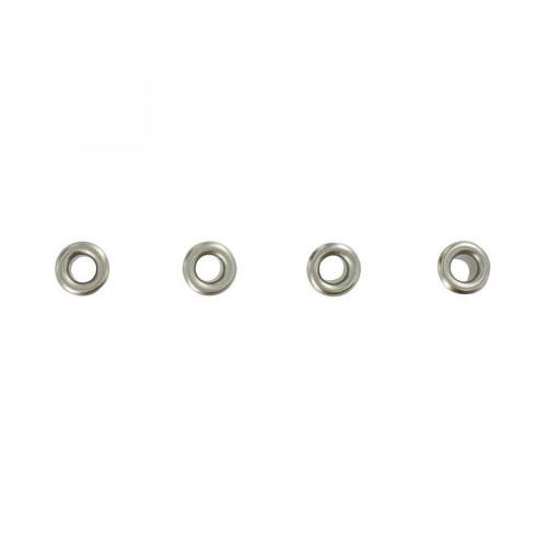 Œillets - Argent - 0,8 cm - 64 pces