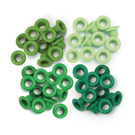 Oeillets 3/16 - Aluminium Green