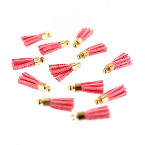 Mini Pompons - rose thé - 12 pcs