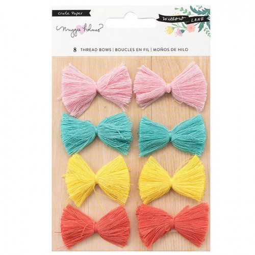 Willow Lane Nœuds en fil - 8 pcs