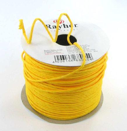 Cordon en papier renforcé - jaune