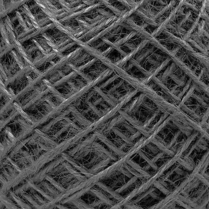 Fil de chanvre naturel noir - 1 à 2 mm x 150 m