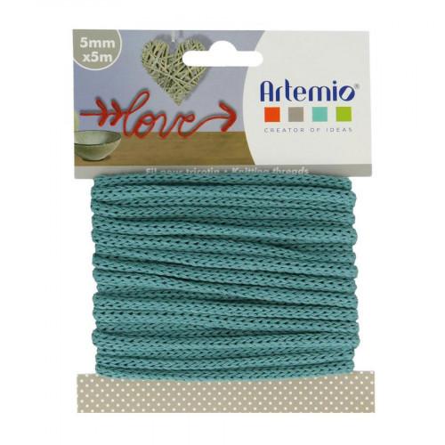 Fil tricotin - Turquoise - 5 mm x 5 m
