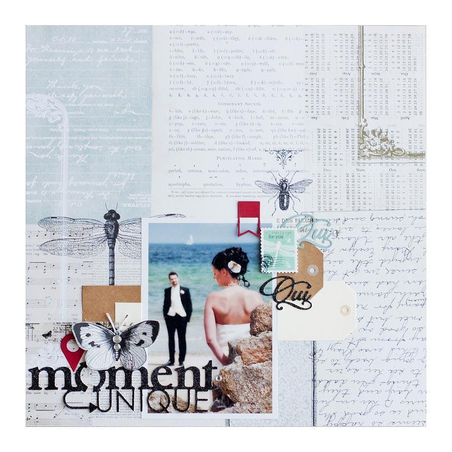 Cabinet de Curiosités - Rubans imprimés - 4 x 90 cm