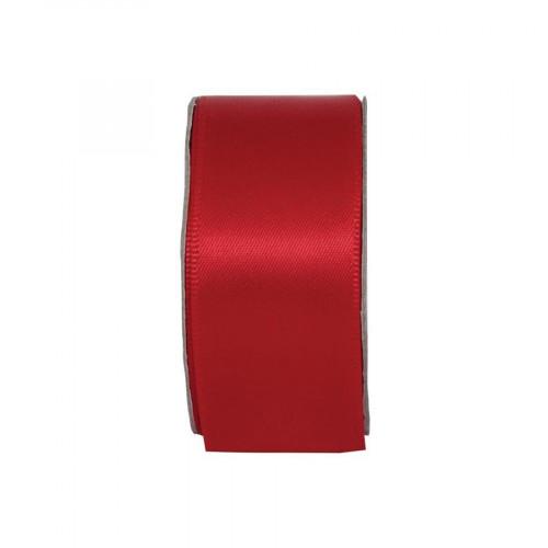 Ruban satin - Rouge - 3 m