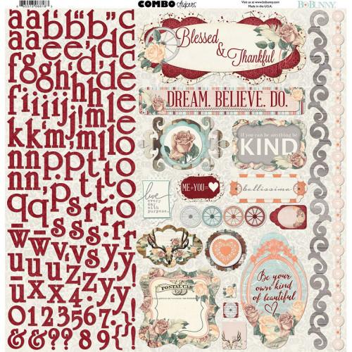 Bella Rosa - Combo Stickers