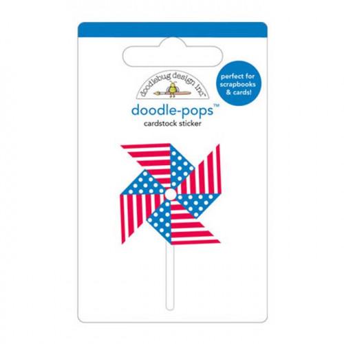 Yankee Doodle - Stickers 3D Doodle Pops - Moulin à vent
