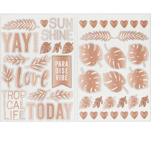 Wild Heart Stickers transparents