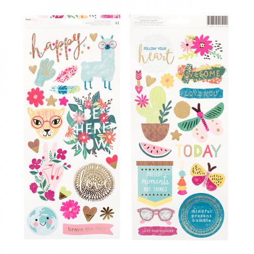 New Day Stickers - 41 pcs